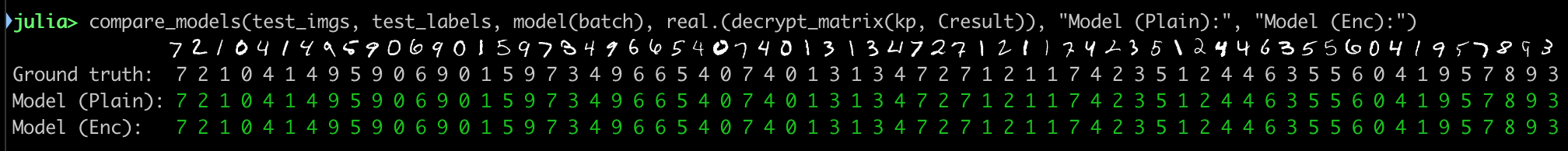 Machine Learning on Encrypted Data Without Decrypting It