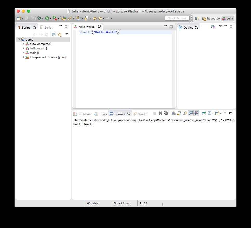 Introducing the Eclipse Julia plugin – JuliaDT – Julia Computing